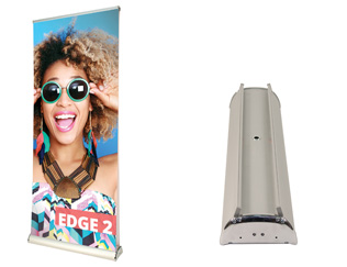 Edge2 Premium Double Sided Banner Stand