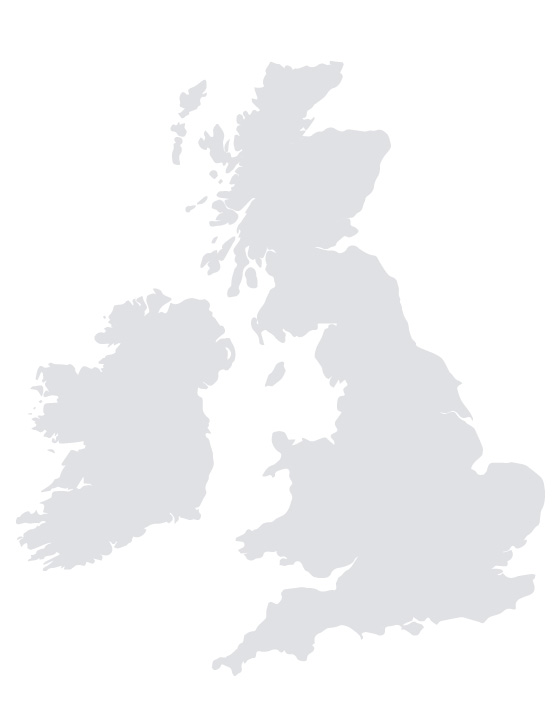 UK Delivery Map
