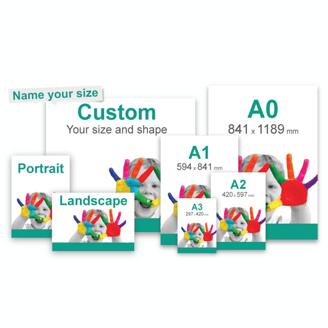 Poster printing at affordable prices   Banner Station