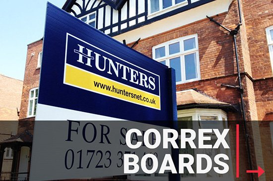 Correx Board, Estate Agent Board Printer