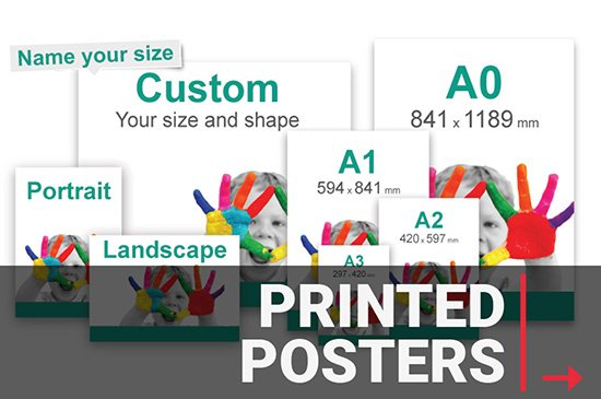 Custom Sized Large Format Poster Printing