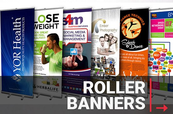 Trade Roller Banner printing and supplier